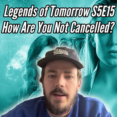 Cover art for Legends of Tomorrow S5E15 Swan Thong Review