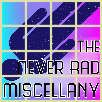 The Never Rad Miscellany is a live dramatized table read of original audio science  fiction serials in the style of The Thrilling Adventure Hour meets The Twilight Zone. Come see a live show in Phoenix!