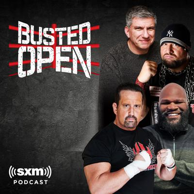 Join Dave LaGreca and his rotating co-host chair that features two WWE Hall of Famers in Bully Ray and Mark Henry and ECW Original Tommy Dreamer for the best pro wrestling talk on radio. From the WWE to Ring of Honor to New Japan Pro Wrestling and the independent scene, Busted Open covers pro-wrestling like no one else in the world! Listen to the full show Monday through Saturday from 9 a.m. to 12 p.m. Eastern on SiriusXM Fight Nation channel 156 or On Demand anytime on the SiriusXM app.