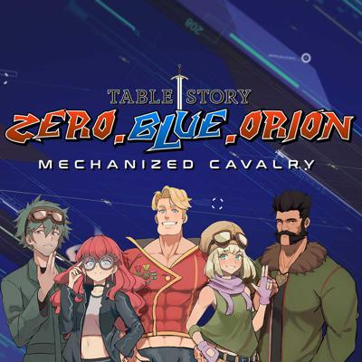 Zero Blue Orion is a comedic anime style mecha show using the Lancer RPG system and follows several test subjects as they try to stop an impending disaster that could undo thousands of years of work.