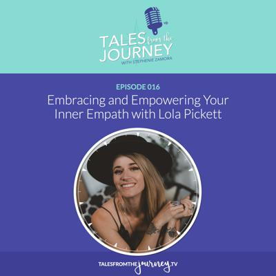 Cover art for Embracing and Empowering Your Inner Empath with Lola Pickett