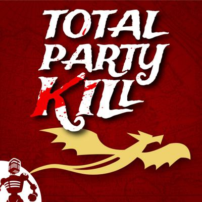 Total Party Kill is a podcast in which a bunch of friends play Dungeons and Dragons (and sometimes other games) on the Internet for your amusement.