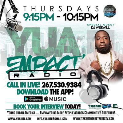Cover art for YUA EMPACT RADIO – Archive 1 Special Guests: DJ Weswill, GoTime & Dom B.
