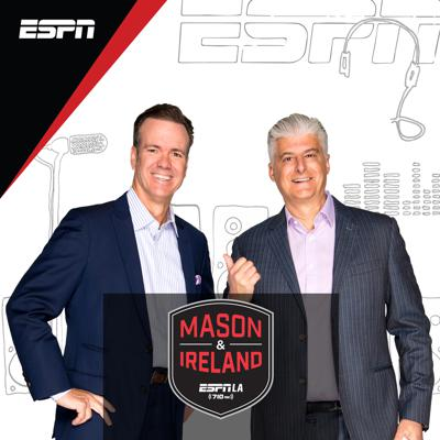 LA's #1 Sports Show is Mason and Ireland. React to LA's top sports stories with the guys afternoons from 3pm-630pm PT on ESPN LA 710 and the ESPN App.