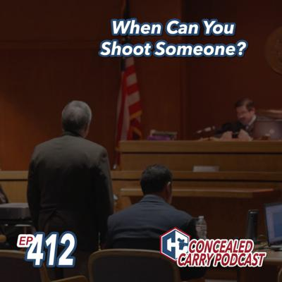 Cover art for Episode 412: When Can You Shoot Someone?
