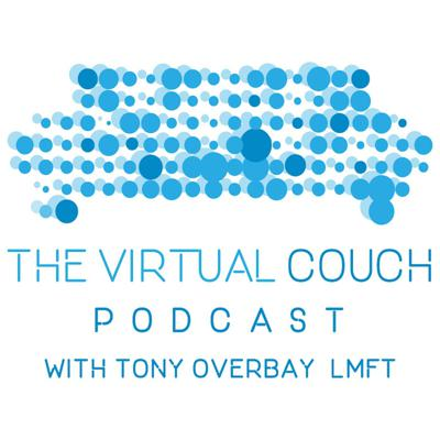 The Virtual Couch is a podcast is hosted by Tony Overbay, a marriage and family therapist, humor columnist and motivational speaker who works with a large number of individuals and couples in a variety of areas including marriage, sexual addiction, and parenting. Tony, and his guests, hope to provide listeners with tools and strategies to help break negative patterns and embrace new and exciting challenges in their lives.