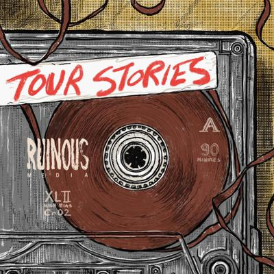 Joe Plummer's friends share their stories from life on the road.  We hear funny, sad and sometimes scary tales from musicians and comedians.  Have a tour story?  Send a message to hello@ruinousmedia.com.  Tour Stories is produced by Ruinous Media.  http://www.ruinousmedia.com/tourstories/