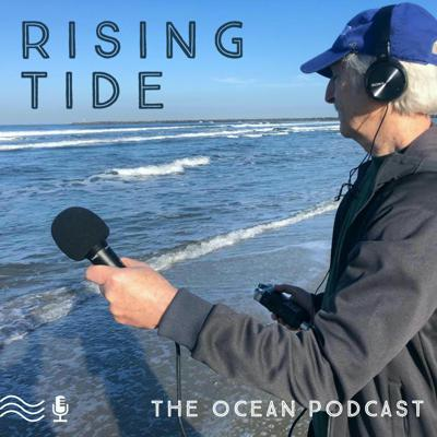 Blue Frontier's podcast, Rising Tide, hosted by Blue Frontier's Executive Director, David Helvarg. This podcast aims to give you information, inspiration, and motivation to tackle the challenges our oceans are facing. The oceans are rising, so are we!