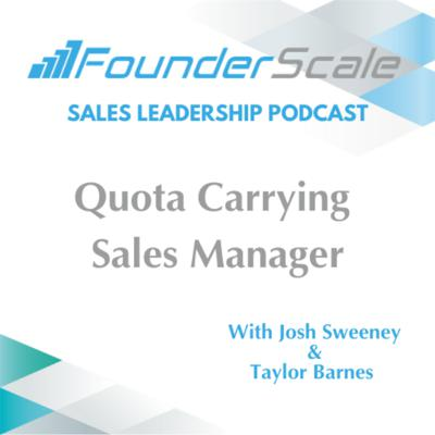 Cover art for Episode 2: Quota Carrying Sales Manager