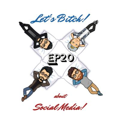 Cover art for Let's Bitch! about Social Media! with John and Celine Krzan!