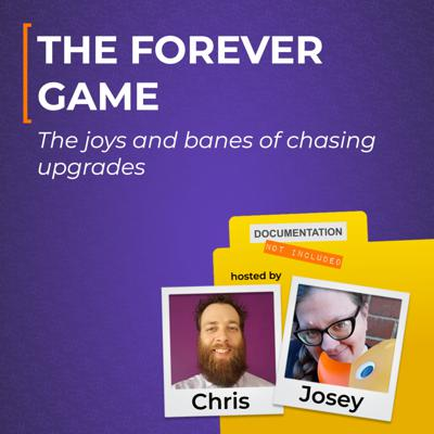 Cover art for The Forever Game