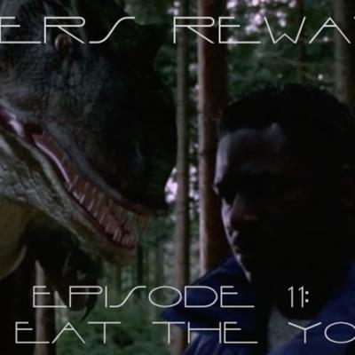Cover art for Sliders Rewatch 11 - Dino Eat the Young