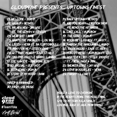 Cover art for Cloud9yne Presents... Uptown's Finest