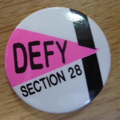 Cover art for LGBT History Month 2016 - Section 28