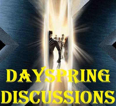 Cover art for Dayspring Discussions July 21, 2020: X-Men Turns 20!