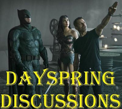 Cover art for Dayspring Discussions July 27, 2020: Justice Con Bring Us More Snyder Cut Info