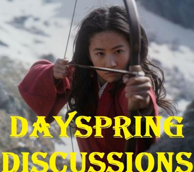 Cover art for Dayspring Discussions Aug 7, 2020: The Umbrella Academy, The Boys, & Mulan