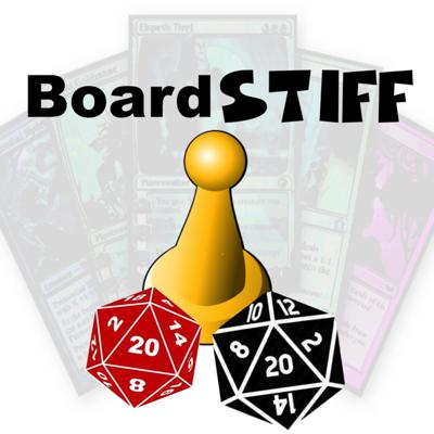 BoardSTIFF is a game review podcast dedicated to introducing NEW Gamers to your gaming table. Whether it is your spouse, partner, mother-in-law, or close friend - you will be better informed of what games to buy to satisfy that important person in your life and provide a positive experience each time!