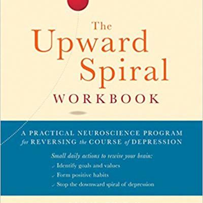 Cover art for Guest: Alex Korb author of The Upward Spiral Workbook: A Practical Neuroscience Program for Reversing the Course of Depression