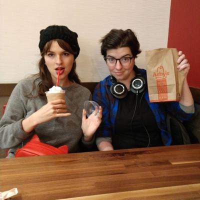 Cover art for 1994 Presents: Arby's Isn't That Bad! Episode 1- Hattie Hayes and Sarah Kennedy