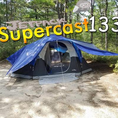 Cover art for #133 - Camping, Paul almost dies, Drawbridge jumping, Missy Elliot Monument, Foxwoods, AI vs E Sports, Koolie's Grammy