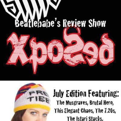 Cover art for Beatlebabe's Review Show July Edition
