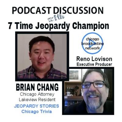 Cover art for Episode 104: Chicago Jeopardy Champion Brian Chang