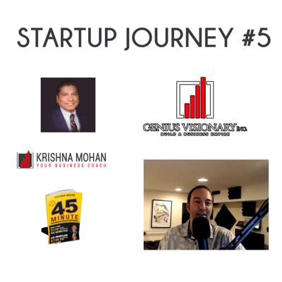 Cover art for Startup Journey #5 with Krishna Mohan