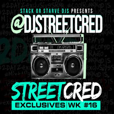 Cover art for DJ StreetCred - Week 16 - 01.01.16 - Mix Show