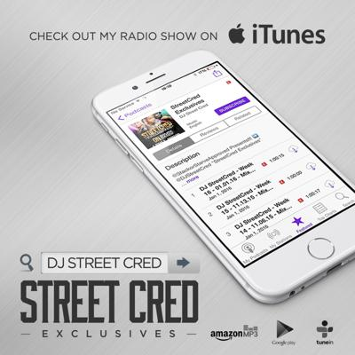 Cover art for DJ StreetCred - Week 17 - 01.13.16 Mix Show - Wednesday