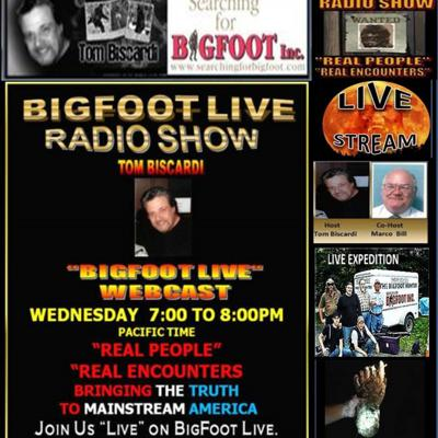 BIGFOOT LIVE RADIO 2016 ARCHIVES