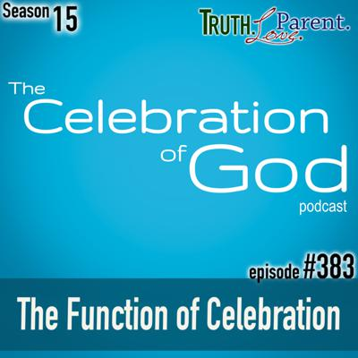 Cover art for TLP 383 (COG 7): The Function of Celebration