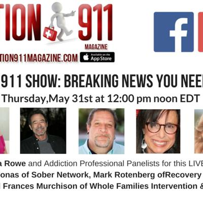 Cover art for The Addiction 911 Show: Breaking News