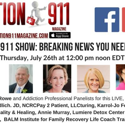 Cover art for Addiction 911 Show: Demi Lavato Overdose. Addiction Experts Weigh In