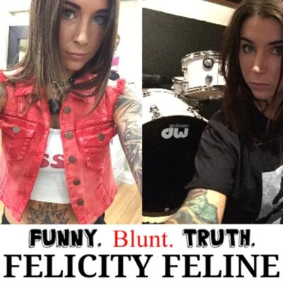 Cover art for FBT Episode 44- Felicity Feline! (Musician, Adult Film Star, Writer) #felicityfeline #interview