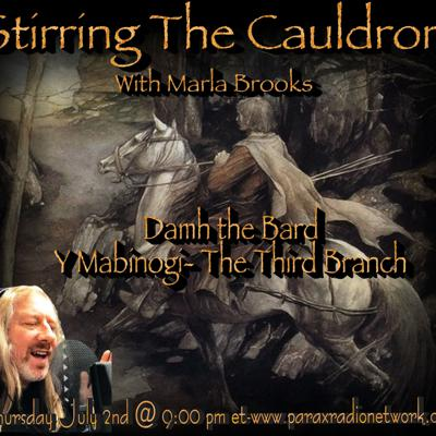 Cover art for Damh the Bard-Y Mabinogi The Third Branch