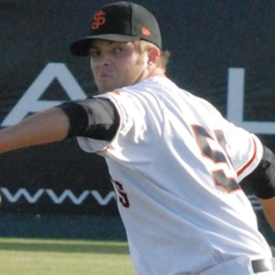 Interview with San Francisco Giants pitcher Justin Fitzgerald