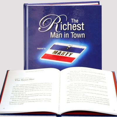 Cover art for Interview with the author of The Richest Man in Town, VJ Smith