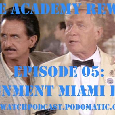 Cover art for Police Academy Rewatch 05 - Assignment Miami Beach