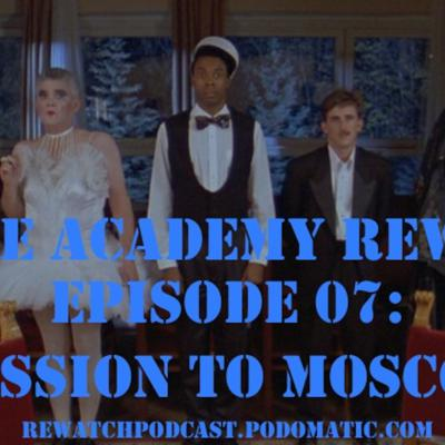 Cover art for Police Academy Rewatch 07 - Mission to Moscow