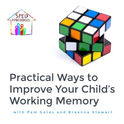 Cover art for Practical Ways to Improve Your Child's Working Memory