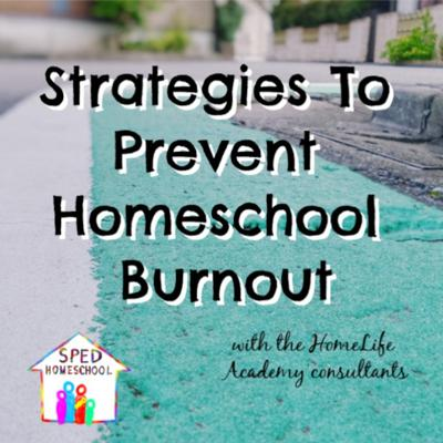 Cover art for Strategies to Prevent Homeschool Burnout