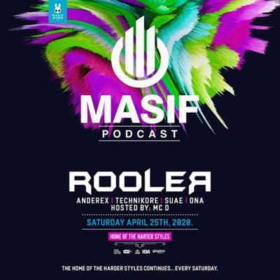 Cover art for Masif Podcast - Episode 002 featuring Rooler