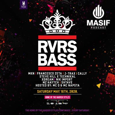 Cover art for Masif Podcast - Episode 005 - RVRS BASS Special