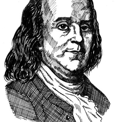 Cover art for Past, Present & Future with Benjamin Franklin