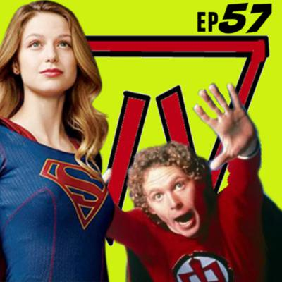 Cover art for STCPod #57 - Crazy Rationale & The Greatest American Supergirl