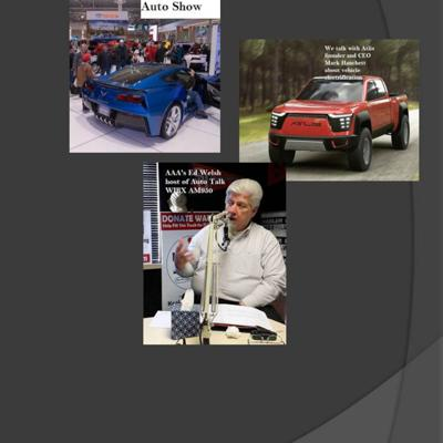 Cover art for Boston Auto Show, Electric Trucks and automotive year in review