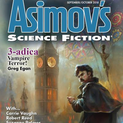 With every new issue, Asimov's Science Fiction Magazine shares one piece of short fiction in podcast form. Enjoy these audio treats from our pages!