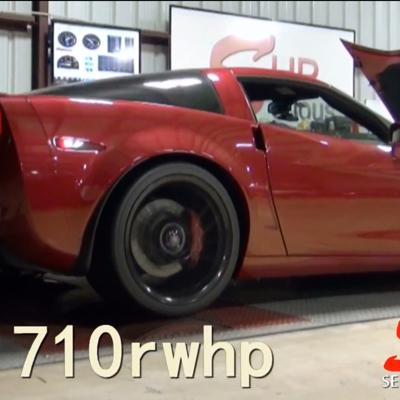 Cover art for Corvette Z06 Supercharged Edelbrock by SeriousHP