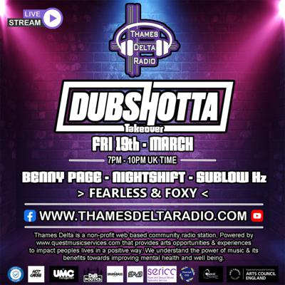 Cover art for Episode 41: Dub Shotta Takeover - Benny Page, Fearless, Foxy & More